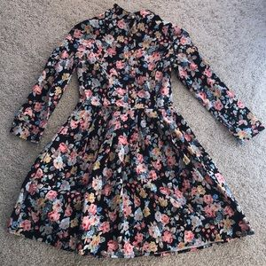 Monica Milano floral long seeker dress